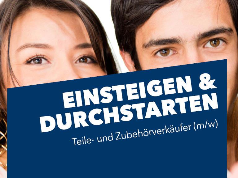 Teile- und Zubehörverkäufer (m/w) in Garching gesucht!