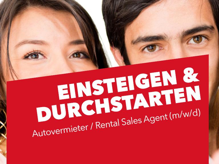Autovermieter / Rental Sales Agent (m/w/d)