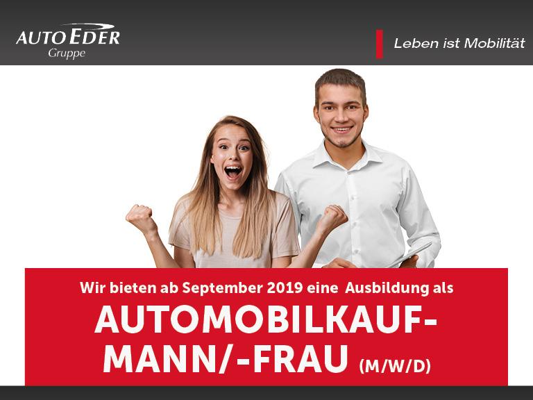 Automobilkaufmann /-frau (m/w/d) Ausbildungsstart 2019