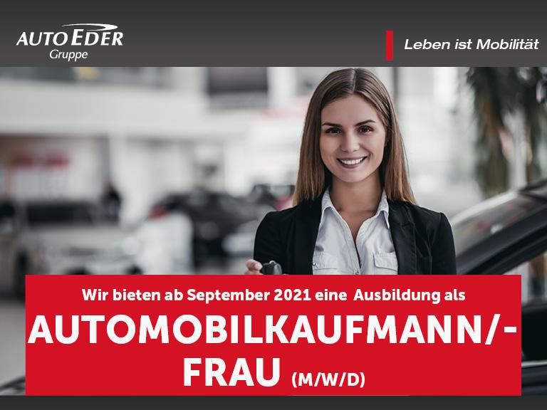 Automobilkaufmann /-frau (m/w/d) Ausbildungsstart 2020