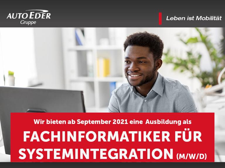 Fachinformatiker für Systemintegration (m/w/d) Ausbildungsstart 2020