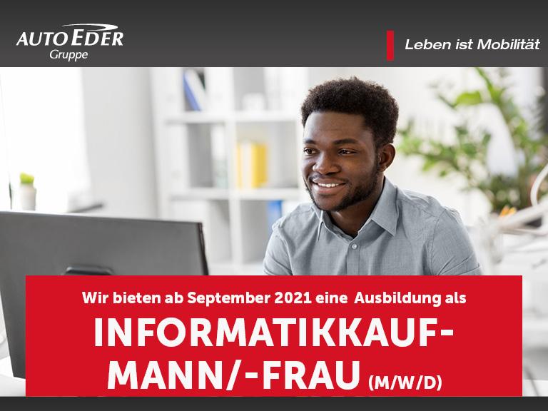 Informatikkaufmann / -frau (m/w/d) Ausbildungsstart 2020