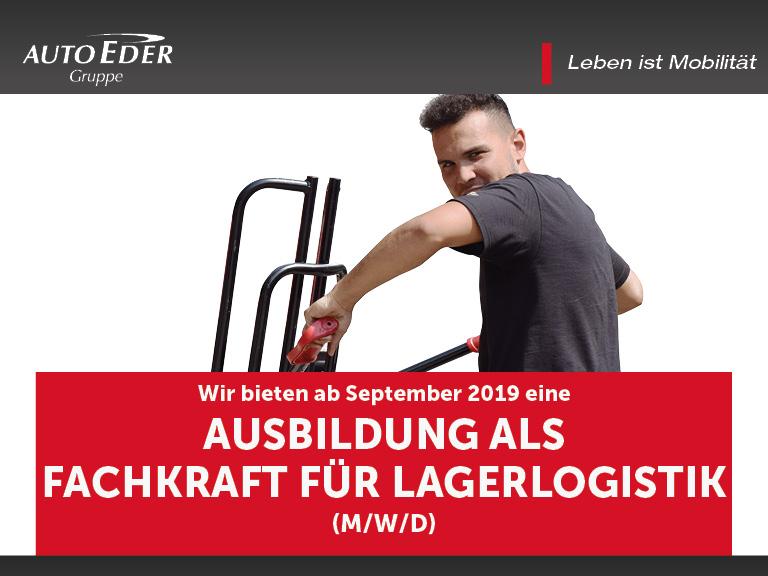 Fachkraft für Lagerlogistik (m/w/d) Ausbildungsstart 2019