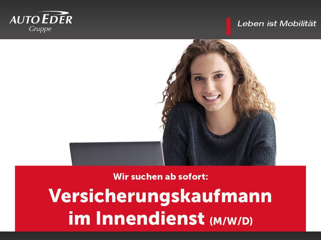 Innendienstmitarbeiter Versicherung (m/w/d)