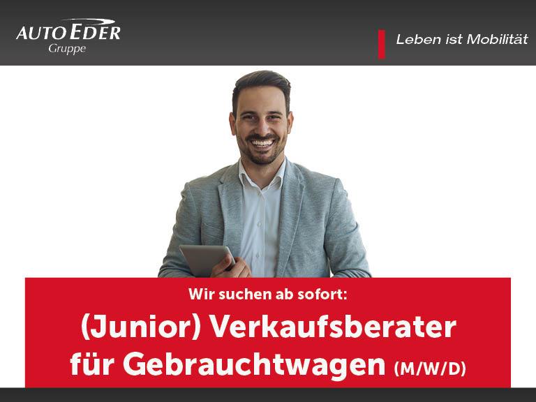(Junior) Verkaufsberater für Gebrauchtwagen (m/w/d)