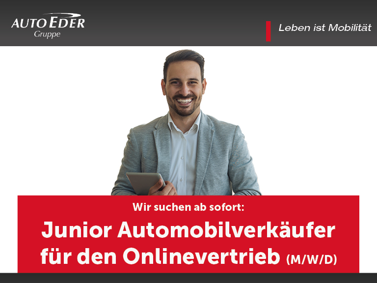 Junior Automobilverkäufer für den Onlinevertrieb (m/w/d)