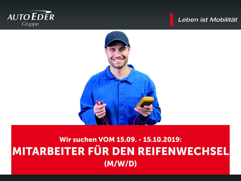 Mitarbeiter für den Reifenwechsel (m/w/d)