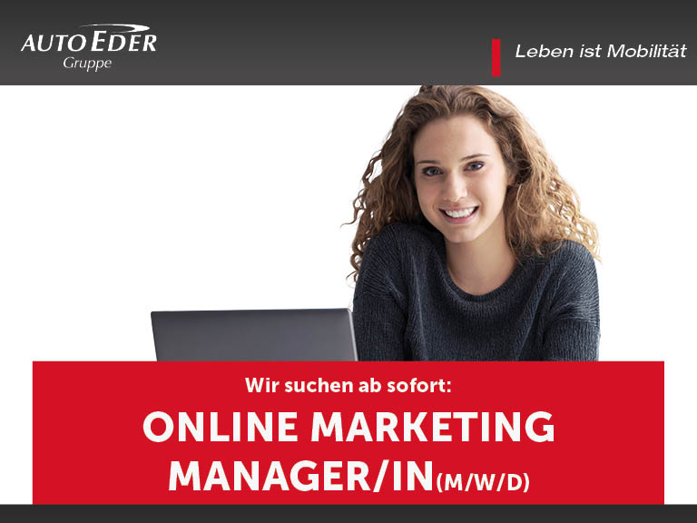 Online Marketing Manager/in (m/w/d)