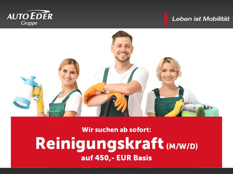 Reinigungskraft (m/w/d) auf 450,- EUR Basis in Kirchseeon