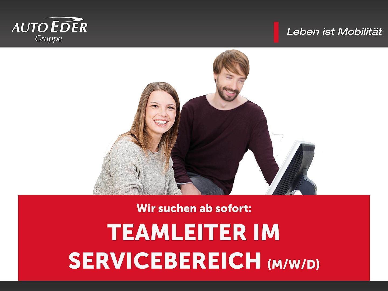 Teamleiter im Servicebereich (m/w/d)