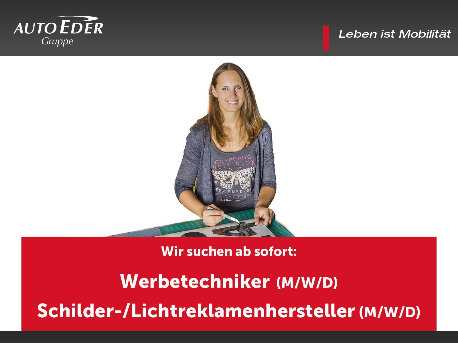 Werbetechniker / Textilveredeler (m/w/d)