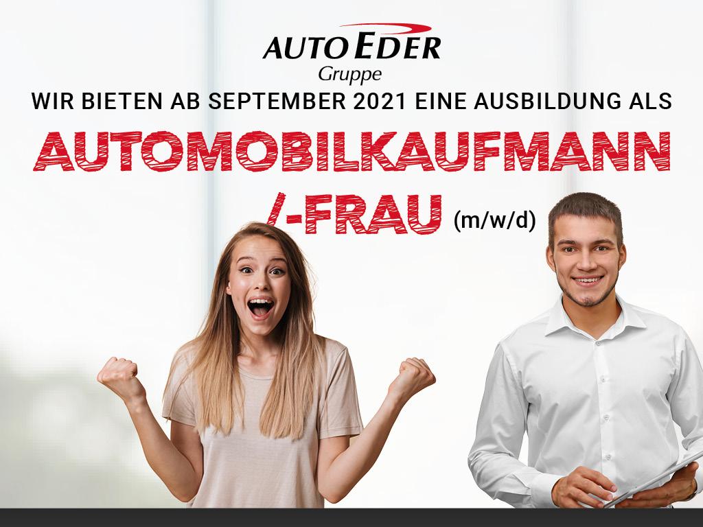 Automobilkaufmann /-frau (m/w/d) Ausbildungsstart 2021