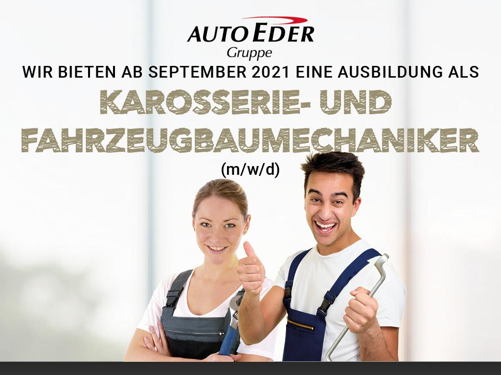 Karosserie- und Fahrzeugbaumechaniker (m/w/d) Ausbildungsstart 2021