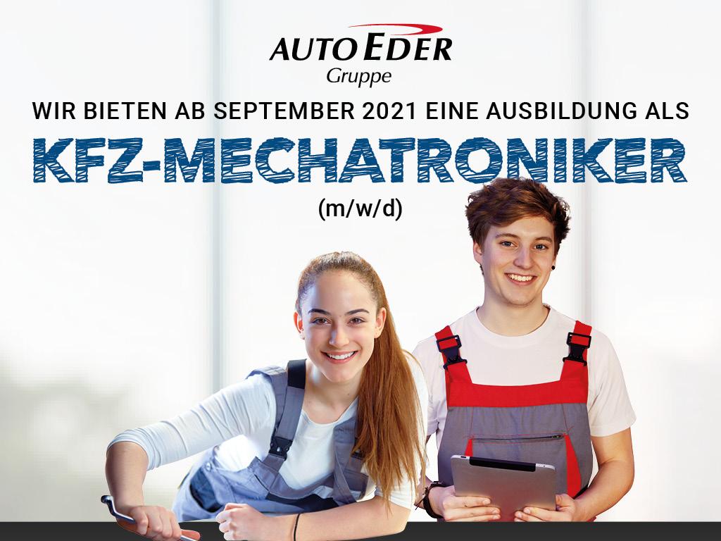 Kfz-Mechatroniker (m/w/d) Ausbildungsstart 2021