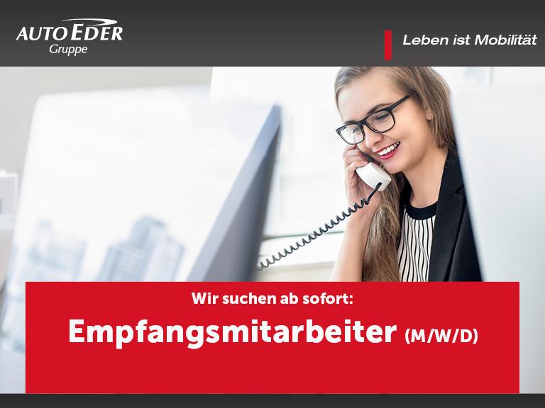Empfangsmitarbeiter (m/w/d)