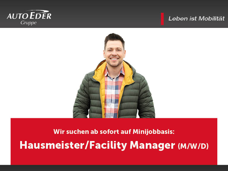 Hausmeister | Facility Manager (m/w/d)