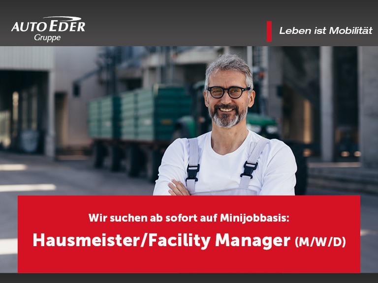 Hausmeister/in | Facility Manager (m/w/d)