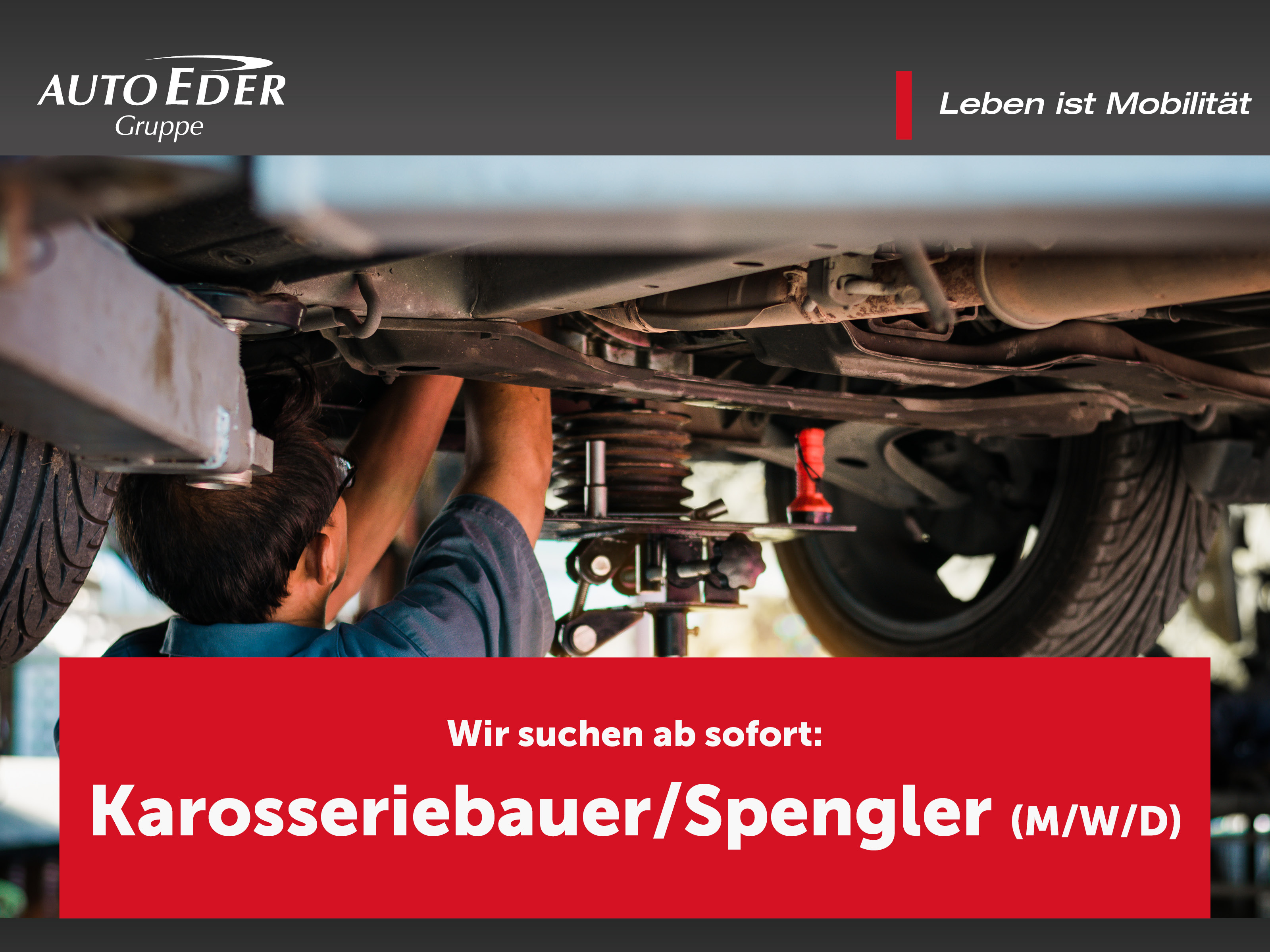Spengler / Karosseriebauer / Kfz-Spengler (m/w/d)