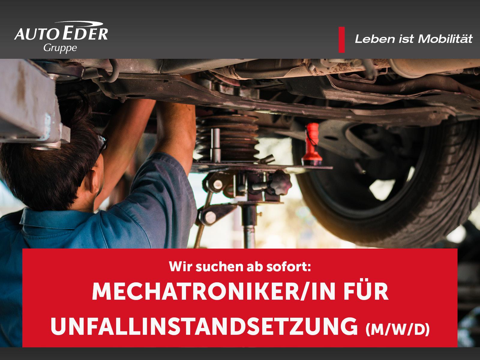 Mechatroniker für Unfallinstandsetzung (m/w/d)