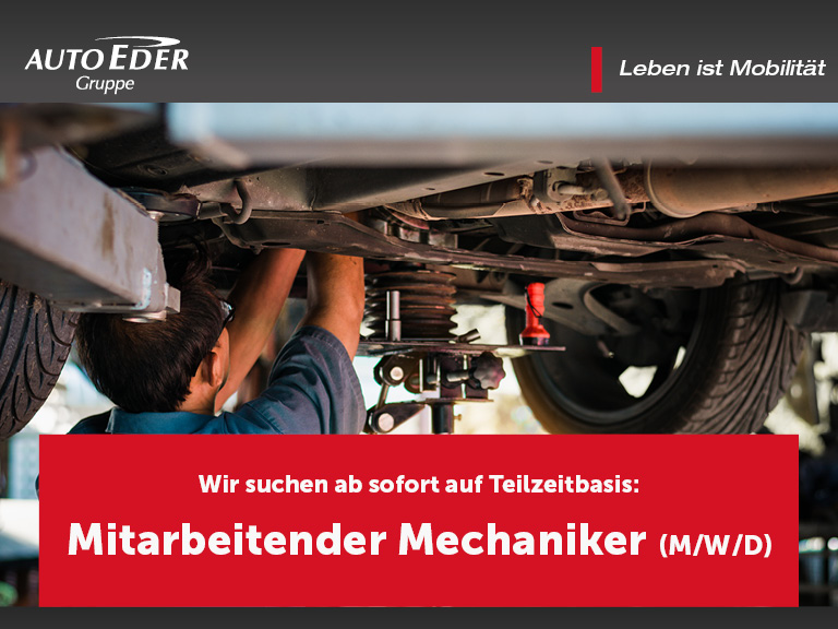 Mitarbeitender Mechaniker (m/w/d) auf Teilzeitbasis
