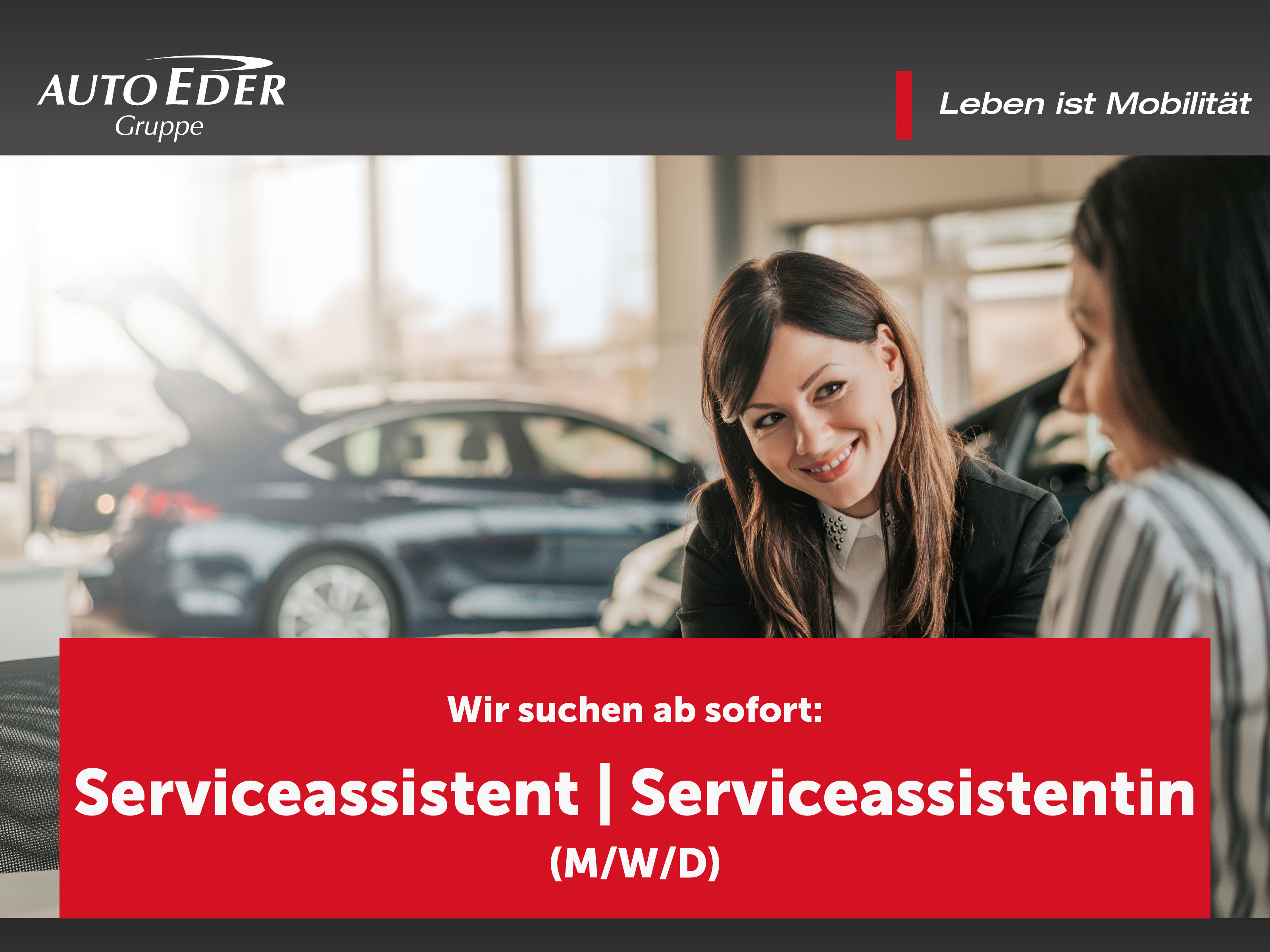 Serviceassistentin | Serviceassistent | Serviceassistenz (m/w/d)