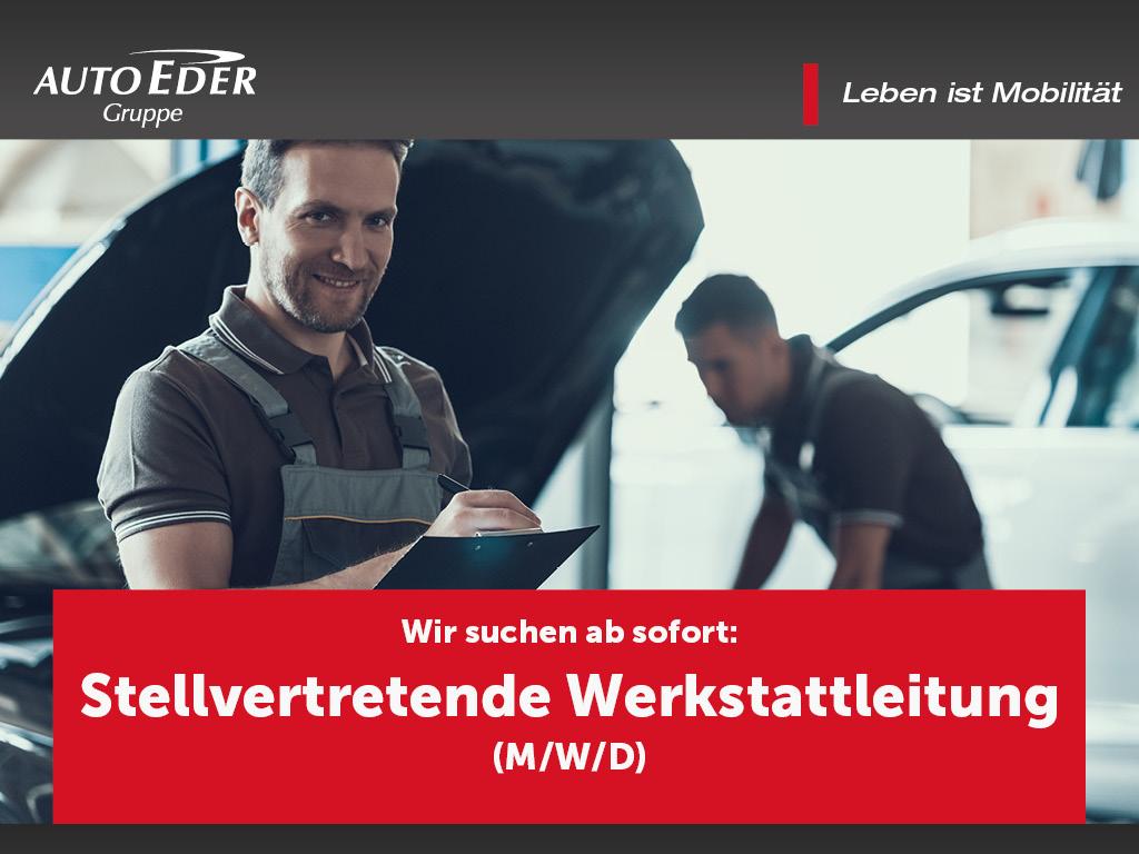 Stellvertretende Werkstattleitung (m/w/d)