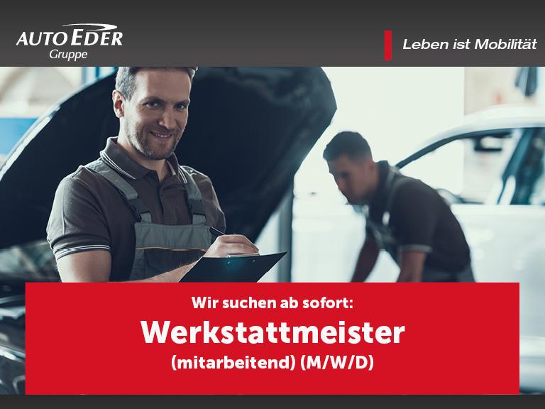 Werkstattmeister (m/w/d)