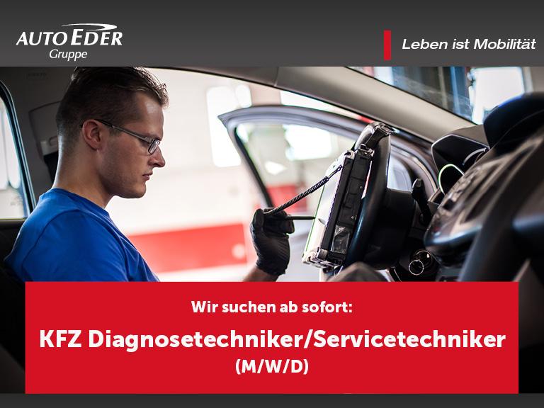 KFZ-Diagnosetechniker/Servicetechniker (m/w/d)