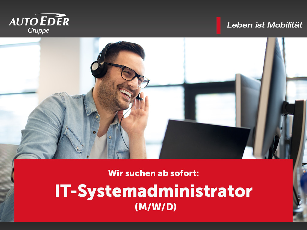 IT-Systemadministrator (m/w/d)