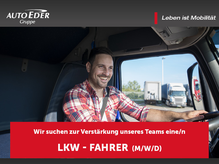 LKW - Fahrer (m/w/d)