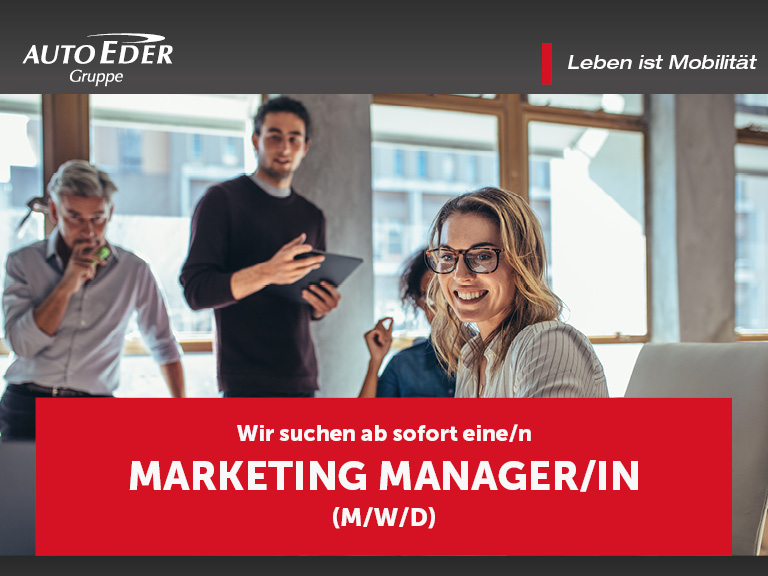 Marketing Manager/in (m/w/d)