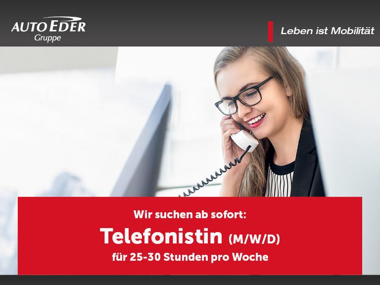 Telefonistin (m/w/d)