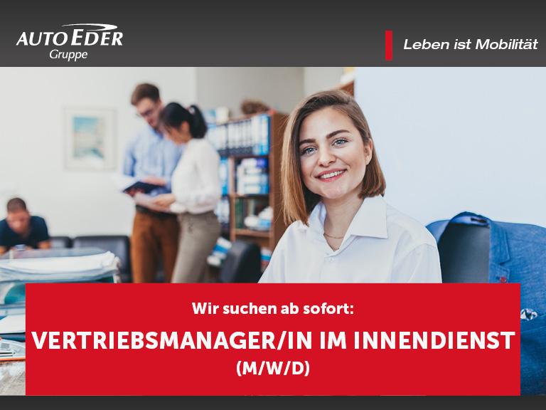 Vertriebsmanager/in im Innendienst (m/w/d)