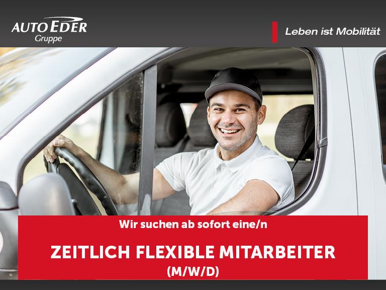 zeitlich flexibler Mitarbeiter (m/w/d)