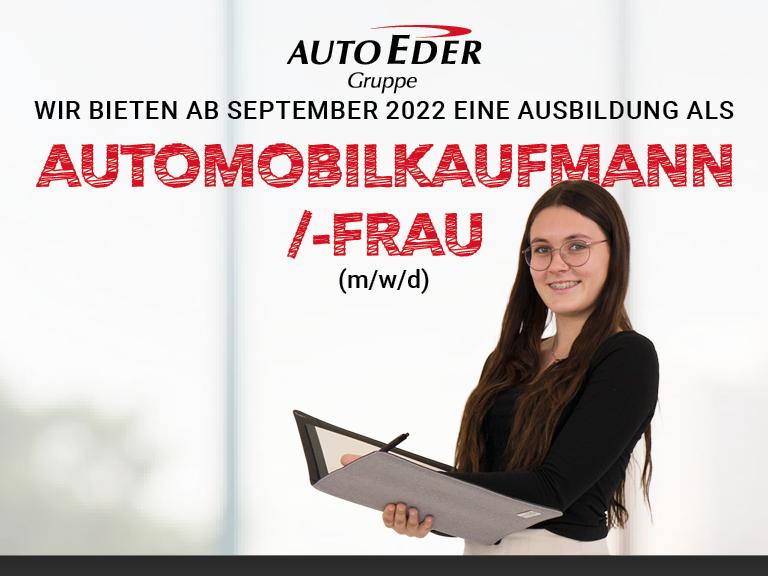 Automobilkaufmann /-frau (m/w/d) Ausbildungsstart 2022
