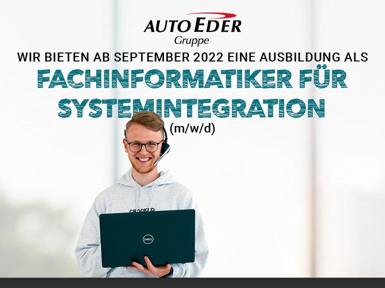 Fachinformatiker für Systemintegration (m/w/d) Ausbildungsstart 2022