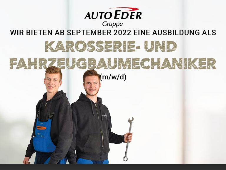 Karosserie- und Fahrzeugbaumechaniker (m/w/d) Ausbildungsstart 2022