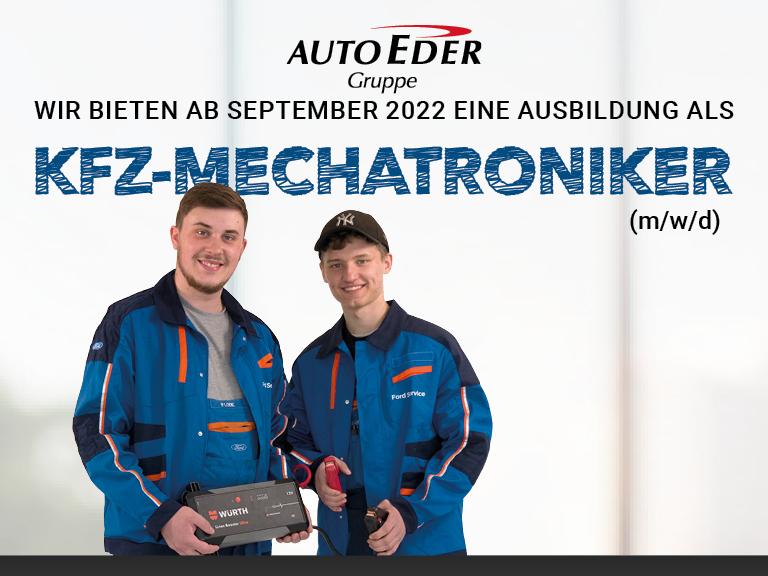 Kfz-Mechatroniker (m/w/d) Ausbildungsstart 2022