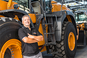 Mitarbeiter Fahrzeughandling für Baumaschinen und Anbaugerätetechnik (m/w/d) in Vollzeit